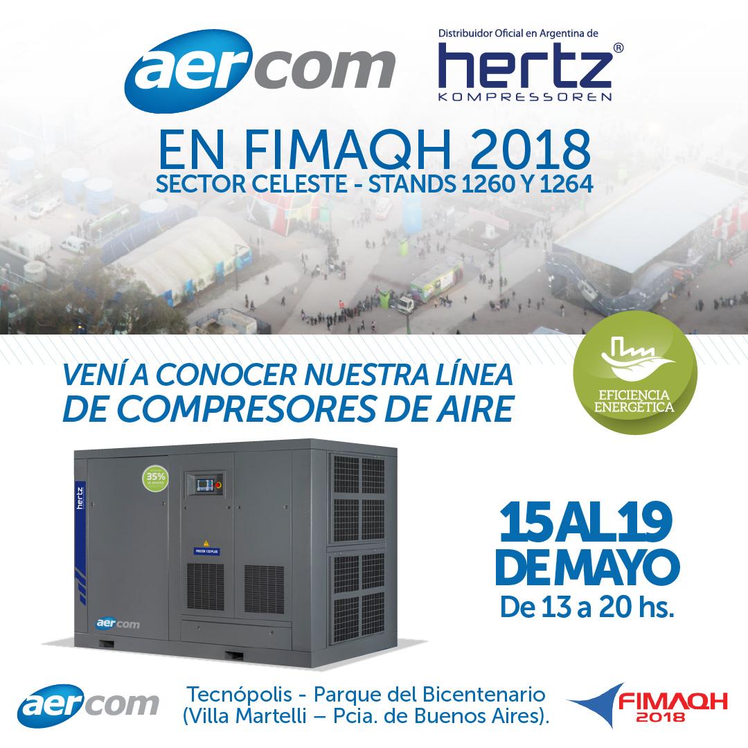 Aercom presente en Fimaqh